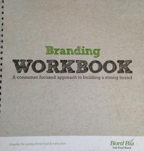 Bord Bia branding workbook